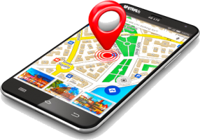 application gps smartphone