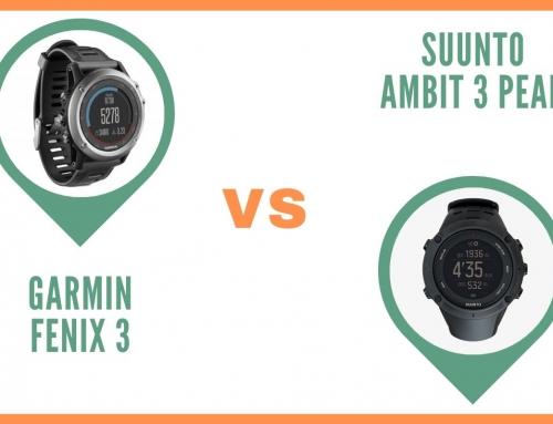 Montre Garmin Fenix 3 ou Suunto Ambit 3 peak : Que choisir ?
