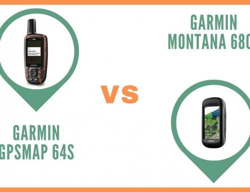 GPS Garmin GPSMAP 64s ou Garmin Montana 680T : Comparatif