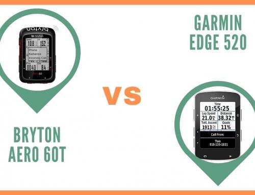 Gps Vélo Bryton Aero 60T ou Garmin Edge 520 : Comparatif
