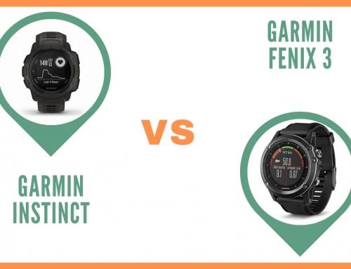 Montre GPS Garmin Instinct ou Garmin Fenix 3 : Comparatif