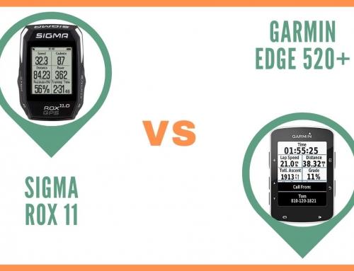 Gps Vélo Sigma Rox 11 ou Garmin Edge 520 Plus : Comparatif