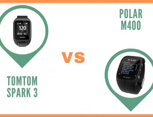 Montre TomTom Spark 3 ou Polar m400 : Comparatif