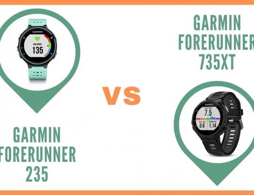 Comparatif des montres running GPS Garmin Forerunner 235 et 735xt