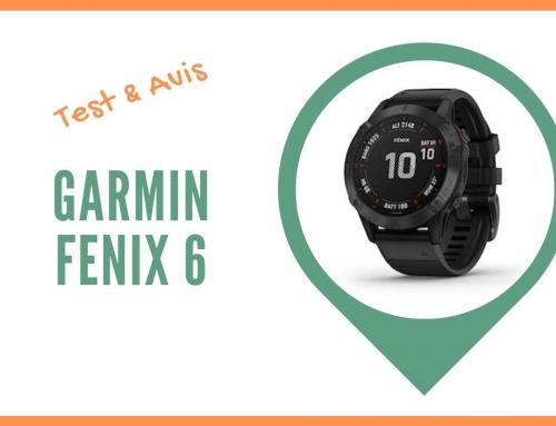 Test de la montre GPS Garmin Fenix 6 et Avis des utilisateurs