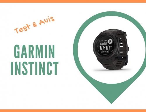 Test de la montre cardio GPS Garmin Instinct et Avis des utilisateurs