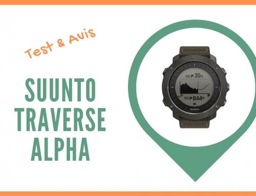Test de la montre GPS Suunto traverse Alpha et Avis des sportifs