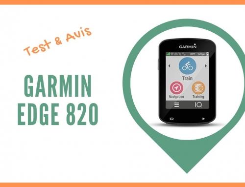 Test du compteur GPS vélo Garmin Edge 820 et Avis des cyclistes