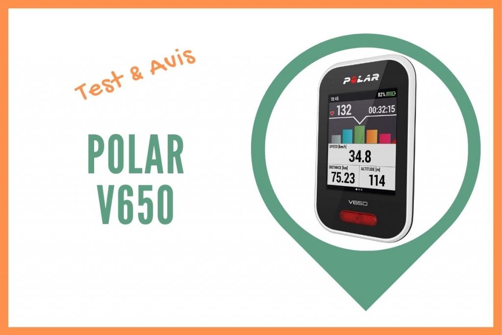 Polar v650 test avis