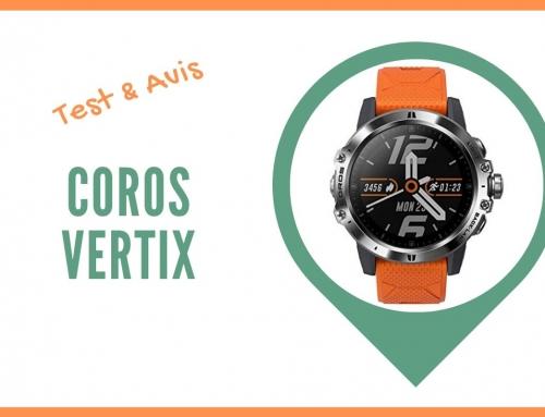 Test de la montre GPS Coros Vertix et Avis des sportifs