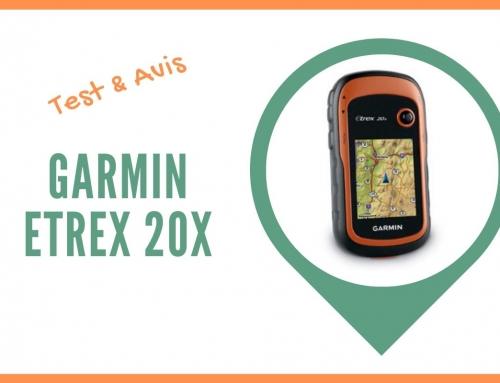 Test du GPS randonnée Garmin eTrex 20x et Avis des utilisateurs